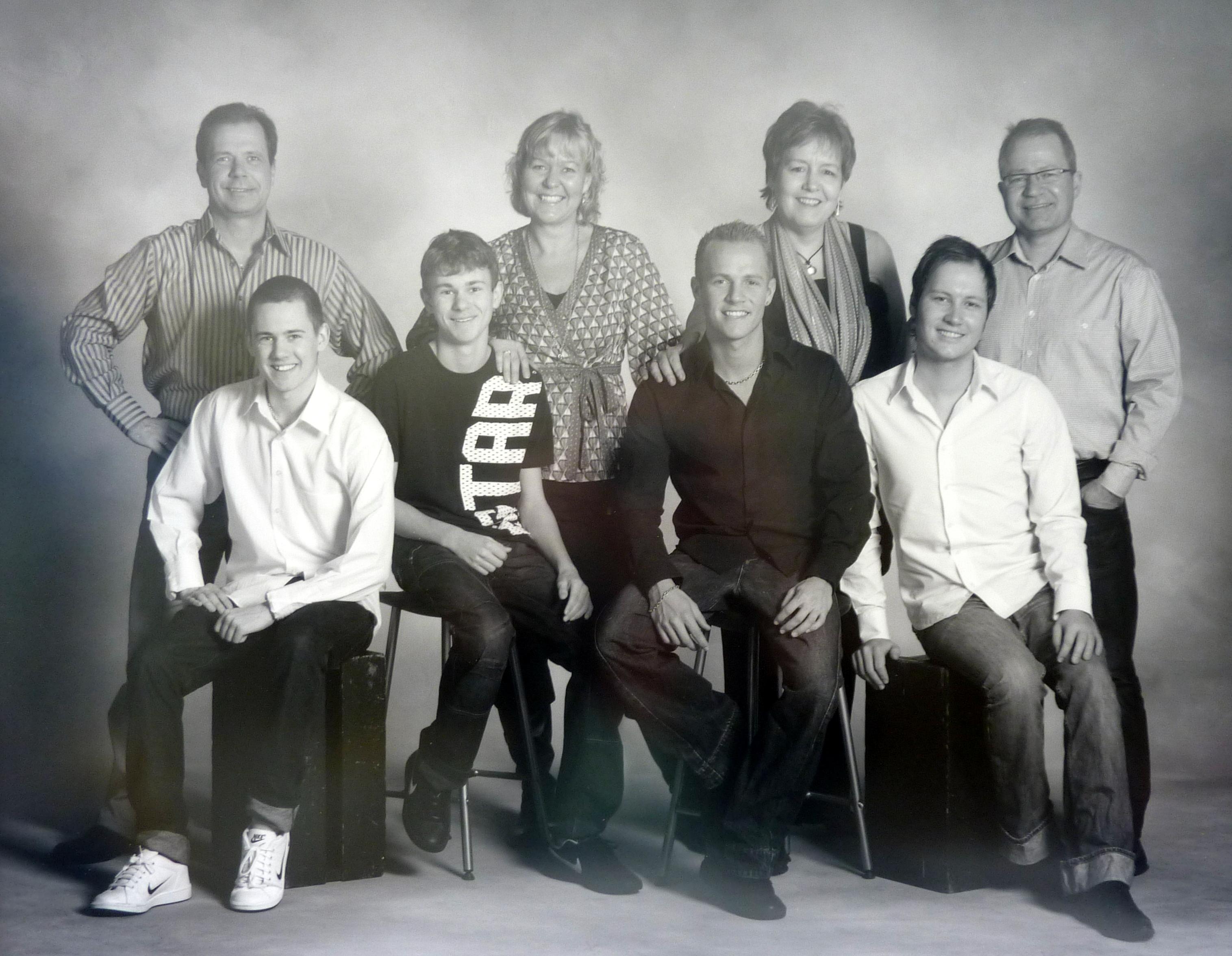 Familien Olsen 2009